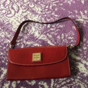 Red Leather Dooney & Bourke Wristlet